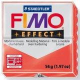 ステッドラー STAEDTLER  フィモ エフェクト 56g 半透明レッド