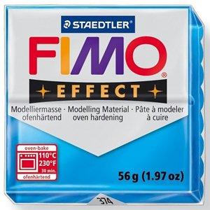 画像1: ステッドラー STAEDTLER  フィモ エフェクト 56g 半透明ブルー