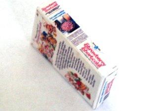 ミニチュア 1/12サイズのパッケージ