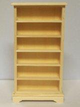 未塗装 ブックケース 本棚(6段)