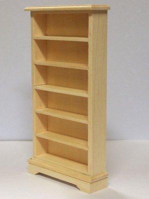 画像2: 未塗装 ブックケース 本棚(6段)