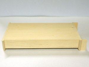 画像4: 未塗装 ブックケース 本棚(6段)