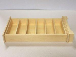 画像5: 未塗装 ブックケース 本棚(6段)