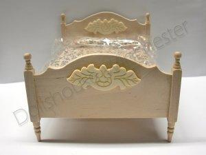 画像2: ダブル・ベッド 未塗装