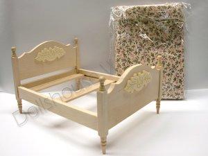 画像4: ダブル・ベッド 未塗装