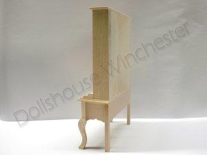 画像3: ドレッサー(食器飾り棚) クィーン・アン 未塗装