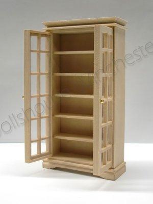 画像4: ブック キャビネット 未塗装