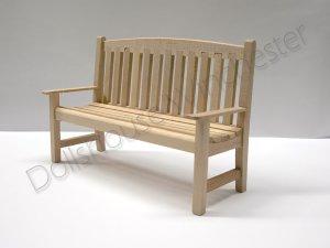 画像1: ガーデン ベンチ 未塗装