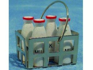 画像1: ミルク4本セット バスケット入り