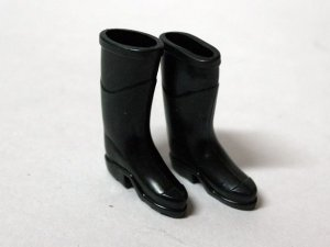 画像1: 長靴 ブラック