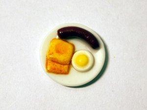 画像2: イングリッシュ・ブレックファスト(ソーセージ・エッグ&トースト)