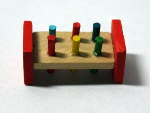 画像3: ハンマー&ペグ(おもちゃ)