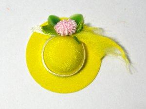 画像2: 帽子(黄色)