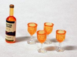 画像2: ボトルワイン&グラス4ヶセット