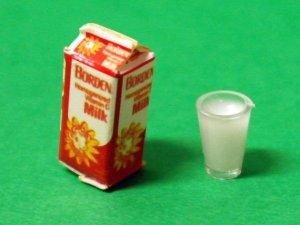 画像2: ミルク(牛乳)& グラス