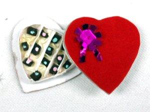 画像3: チョコレート ハート型ギフトボックス入り