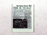 """新聞 タブロイド """"The Daily Sketch """""""