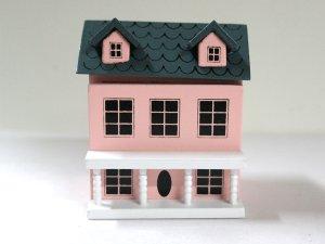 画像2: ドールハウス用ドールハウス ピンク