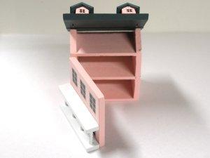画像3: ドールハウス用ドールハウス ピンク