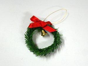 画像2: クリスマス・リース ベル付き