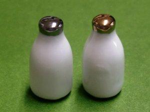 画像1: ミルクボトル 2本セット