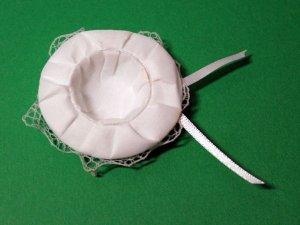 画像4: 帽子(白色) レース
