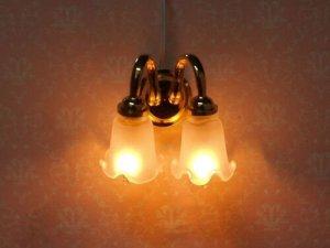画像3: 照明 壁用  チューリップ2灯