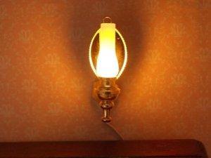 画像3: 照明 壁用 オイルランプ ミラー付スコンス