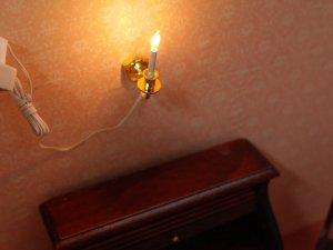 画像3: 照明 壁用 キャンドル