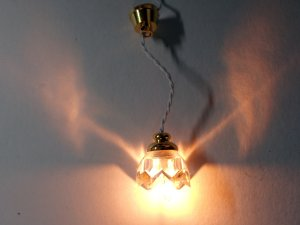 画像4: 照明 天井用 吊り下げ リリー クリア