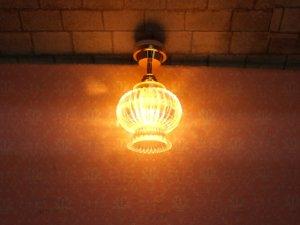 画像2: 照明 天井用 クリスタル・ランタン