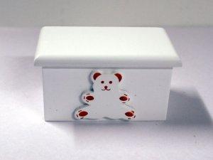 画像1: ベア ブランケット・ボックス ホワイト