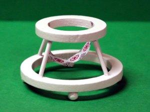 画像3: ベビー・ウォーカー(歩行器)白