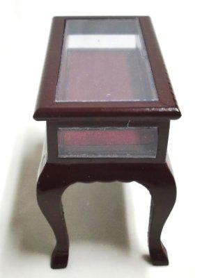 画像4: ディスプレイテーブル マホガニー