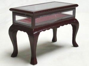 画像3: ディスプレイテーブル マホガニー