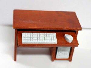 画像5: コンピュータ・デスク&チェア PC付