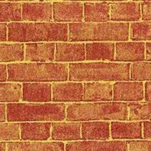 """画像1: 壁紙 外壁レンガ Red Weathered Brick 22""""x30"""" (55.88cmx76.20cm)"""