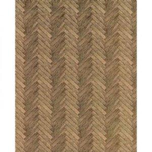 画像1: 壁紙 床用 寄せ木張り  55.88cm x 76.25cm