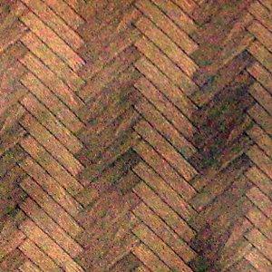 画像3: 壁紙 床用 寄せ木張り  55.88cm x 76.25cm