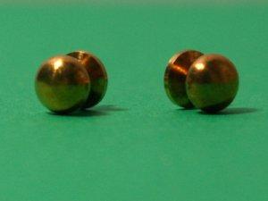 画像2: ドアノブ 真鍮 ペア(2個)