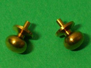 画像4: ドアノブ 真鍮 ペア(2個)