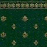 """壁紙 A3 (297 × 420 ミリ)室内壁用 """"Garden Crest"""" Green & Ivory"""