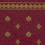 """壁紙 A3 (297 × 420 ミリ)室内壁用 """"Garden Crest"""" Burgundy & Ivory"""