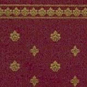 """画像1: 壁紙 A3 (297 × 420 ミリ)室内壁用 """"Garden Crest"""" Burgundy & Ivory"""