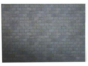 画像2: 壁紙 屋根スレート A3 (297 × 420 ミリ) Grey Slate  Paper