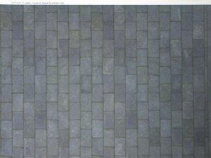 画像3: 壁紙 屋根スレート A3 (297 × 420 ミリ) Grey Slate  Paper