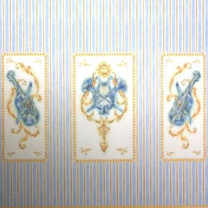画像1: 壁紙 A3 (297 × 421 ミリ) Music Room paper