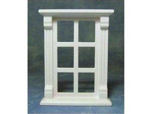 画像1: 窓枠(6窓) プラスティック製