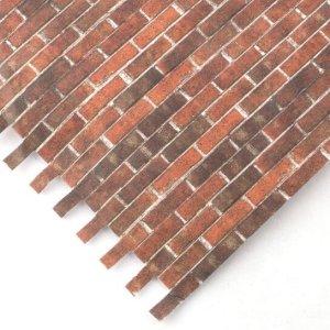 画像1: レンガ (浮き出し) 壁紙