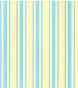 Regency Stripe Blue on Cream